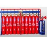 固定式高压二氧化碳(CO2)气体自动灭火系统
