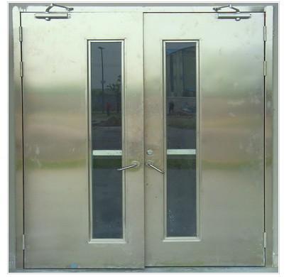 不锈钢大玻璃防火门